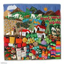folk tapestry