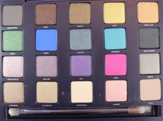 Urban Decay Vice Palette Review & Swatches
