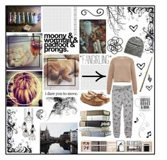 """""""lazy sunday"""" by holly-elizabeth ❤ liked on Polyvore featuring Abercrombie & Fitch, Marc Jacobs, Missoni, UGG Australia, Monki, aNYthing and ferm LIVING"""