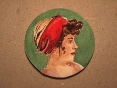 watercolour miniature comissioned portrait