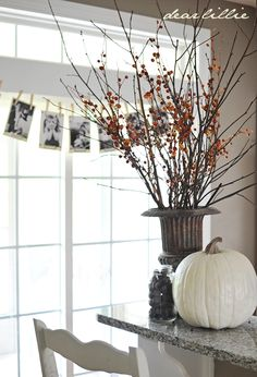Dear Lillie: Early Autumn Family Room