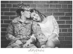 same sex engagement session, lesbian engagement session, military engagement…