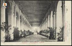 Cagliari, Bastione San Remy  passeggiata coperta
