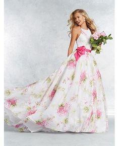 Robe de cocktail pour mariage mousseline princesse