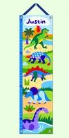 Dinosaurland Personalized Growth Chart