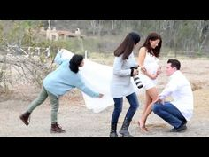 Behind the Scenes of a Pregnancy Session with Ana Brandt