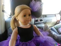 American Girl Doll of The Year Isabella is off to Ballet, Tap and Baton classes at Vicki Michelle Dance Studio in Spring, Texas