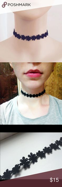 • Trend Lace Choker • Brand new in package! Beautiful and trendy. 5 star guaranteed  Check out other styles in closet! Jewelry Necklaces