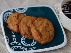 Vegan Raisin Breakfast Cookies
