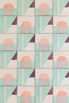 Elisa Passino - Home Decor Tile Patterns, Textures Patterns, Print Patterns, Wallpaper Patterns, Contemporary Tile, Unique Tile, Tiles Texture, Tile Murals, Glazed Tiles