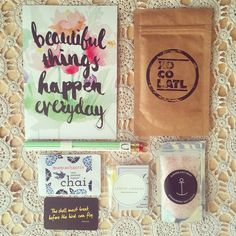 The Love Letter goodies