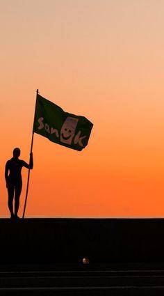 Sanuk Nation, we salute you.