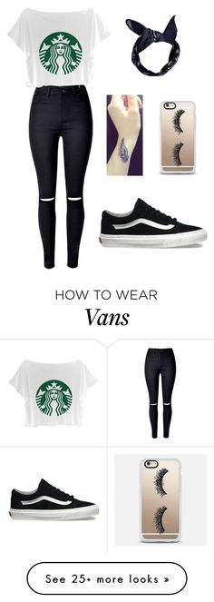 """Rollazo!"" by garazi-estebez-guede on Polyvore featuring Boohoo, Casetify and Vans"