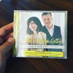 So excited to get an early copy of #facingataskunfinished from @gettymusic in the mail! @hannahpickering and I had the great privilege of being in the studio with them as they recorded live and it was such a special time of #worship! Praying for all of #God's blessings to be with Keith and Kristyn as they bring these songs and hymns around the world!