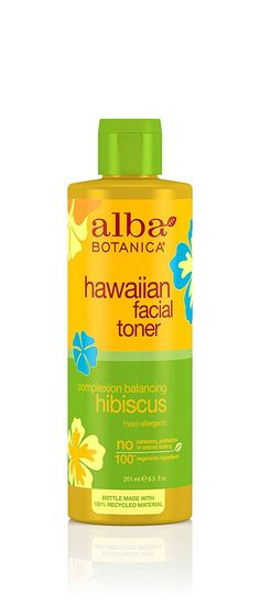 Alba Botanica Hawaiian, Hibiscus Facial Toner, 8.5 Ounce >>> You can get additional details at the image link.