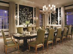The Fairmont San Francisco Penthouse Suite Dining Room