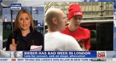 Celebrity News: Justin Bieber leaves hospital after illness at London and Fight with Paparazzi's concert | AT2W