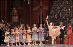 """Christianne Campbell in the Washington Ballet's production of """"The Nutcracker."""""""