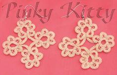 Pinky Kitty Bijoux: CHIACCHIERINO CON L'AGO Needle Tatting
