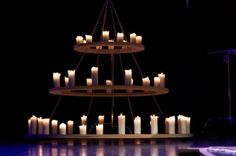 Candle Chandeliers - The Haunting Words of Christ