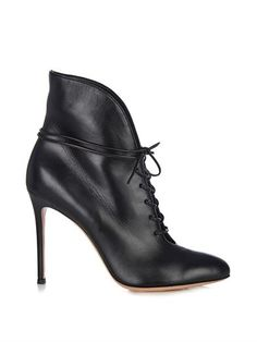Lace-up leather ankle boots | Gianvito Rossi | MATCHESFASHION.COM