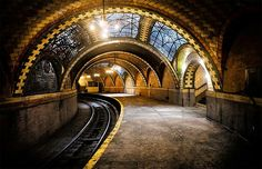 City Hall – The Ghost Subway Station of New York City