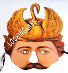 KING LUDWIG VICTORIAN PAPER MASK STOCKHOLM'S LEKSAKS | eBay