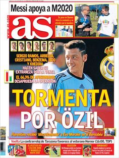Los Titulares y Portadas de Noticias Destacadas Españolas del 4 de Septiembre de 2013 del AS ¿Que le pareció esta Portada de este Diario Español?
