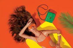 Set of colorful fashion portrait photography by Rodrigo Maltchique, an artist based in Amsterdam, Netherlands. Fashion Poses, Fashion Shoot, Pop Fashion, Editorial Fashion, Color Photography, Creative Photography, Portrait Photography, Fashion Photography, Colourful Photography