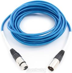 Blue Microphones: Microphone Cable, XLR Male-XLR Female, 20' Long - Single Channel