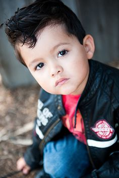 Greaser>>Baby greaser!! I want to set my little boy's hair like this. ... My older daughter has already gotten the experience of a pin-up roll!!