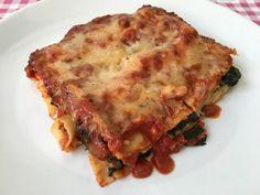 Lasagne met spinazie | Lekker met spinazie | En gezonder dan Lasagne alla Bolognese | Dit recept vind je op Alles Over Italiaans Eten
