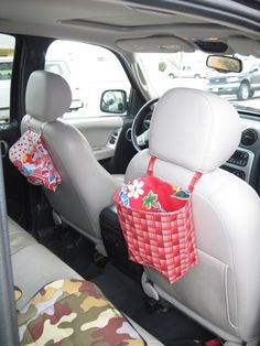 car seat activity bags