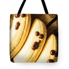 Banana Tote Bag featuring the photograph Tasty Healthy Halloween Treats For Kids by Jorgo Photography - Wall Art Gallery Kids Tote Bag, Women Accessories, Fashion Accessories, Halloween Treats For Kids, Bag Sale, Bucket Bag, Banana, Tasty, Wall Art