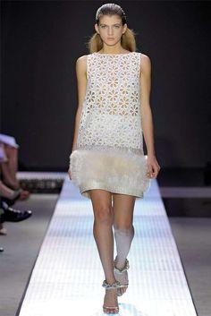 The Giambattista Valli Spring 2012 Collection is Stunning #feathers #fashion trendhunter.com