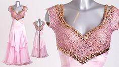 DSI London pretty pink gown