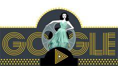 Google festeggia la scienziata e attrice Hedy Lamarr con il nuovo Doodle