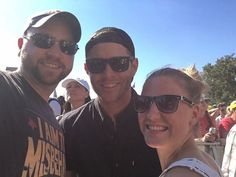 """@jensenackles with fans at the #ACLFestival2016 #aclfest  Credit: Benton Brown on Facebook.  caption: """"Us hanging with our new friend, Jensen Ackles!  We ended up watching a few shows next to each other on Sunday... he said that he and Jared Padalecki (his costar on """"Supernatural"""") had the network write into their contracts that they get ACL weekend off from filming every year""""  #supernatural #supernaturalfamily  #spn #spnfamily #spnfan #spnfandom  #myphoto please give credit thank you…"""