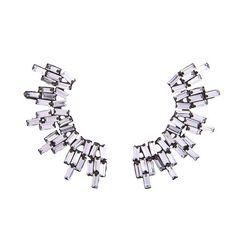 nOir Jewelry - Nightfall - Baguette Earrings