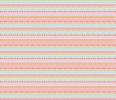 pretty geometric fabric by bethan_janine on Spoonflower - custom fabric
