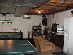 Transform Your Unfinished Basement Into An Attractive, Functional Part Of  Your Home. Hereu0027s How You Do Itu2026 Looking To Decorate An Unfinished Basement  In ... Idea