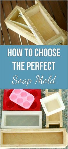 Are you in the market for a new soap mold? There are so many options out there from silicone to wooden. I broke down all the options for you whether your making melt and pour soap or cold process, you'll find the right mold here. Soap Making Kits, Soap Making Recipes, Soap Making Supplies, Homemade Soap Recipes, Homemade Cards, Melt And Pour, Cold Process Soap, Home Made Soap, Handmade Soaps