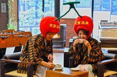 Our name is Sakuranbo ~ 🍒  #nikon #d5 #photography #japan #japanese #onsen #yamagata #tendo #tendocity #sakaeyahotel #onsenryokan #japaneseculture