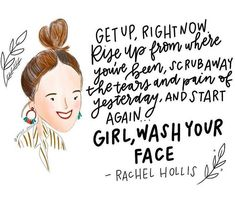 Well, this is just the coolest thing ever! The only thing neater than people making pretty quotes out of my words is people making pretty… Positive Mindset, Positive Thoughts, Daily Motivational Quotes, Inspirational Quotes, Book Quotes, Me Quotes, Grandmothers Love, Meant To Be Quotes, Rachel Hollis