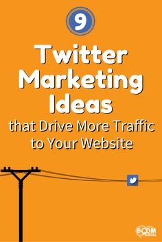 The goal of social media is to get your followers to the online real estate that you own: your website! Here are 9 Twitter marketing ideas to do just that!