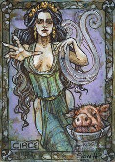 Circe - Soni Alcorn-Hender by Pernastudios.deviantart.com on @deviantART