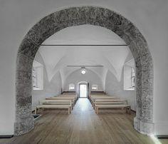 annakapelle renovated by hammerschmid pachl seebacher architekten (HPSA) + wolfgang günther in schladming, austria
