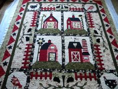 Love the picket fence! May need to add that a a border when I am finishing my barn quilt... Hmmmmm!