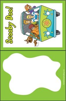 Scooby Gang Invite, Scooby, Invitations - Free Printable Ideas from Family Shoppingbag.com