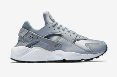 Nike Air Huarache – šedé dámské boty dfc40ef57a